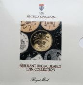 1989 Brilliant Uncirculated Coin Collection